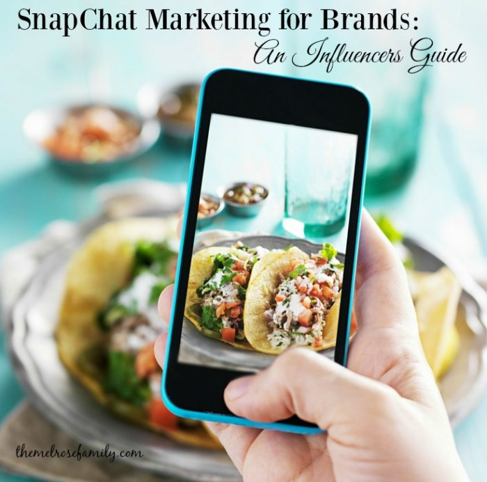 SnapChat Marketing for Brands: An Influencers Guide