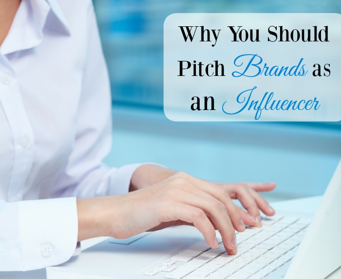 Why You Should Pitch Brands as an Influencer