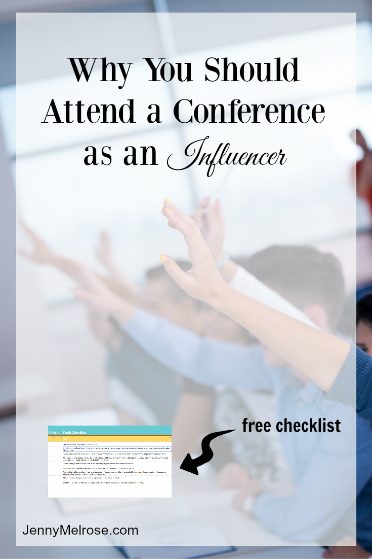 Why You Should Attend a Conference as an Influencer