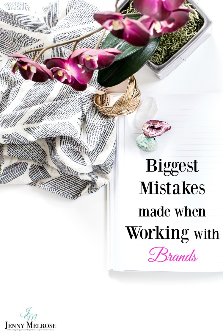 Biggest Mistakes Made when Working with Brands