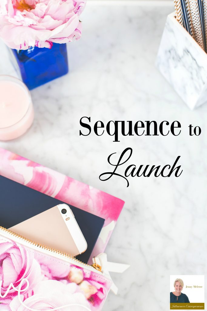 Do you have a product that you're looking to market? In this episode of the Influencer Entrepreneurs Podcast we are talking about your Sequence to Launch for a product.