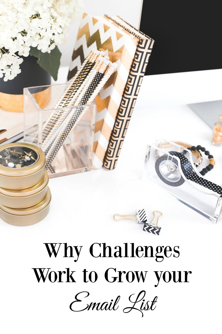 Looking to build your email list? Here's why Challenges Work to Grow your Email List