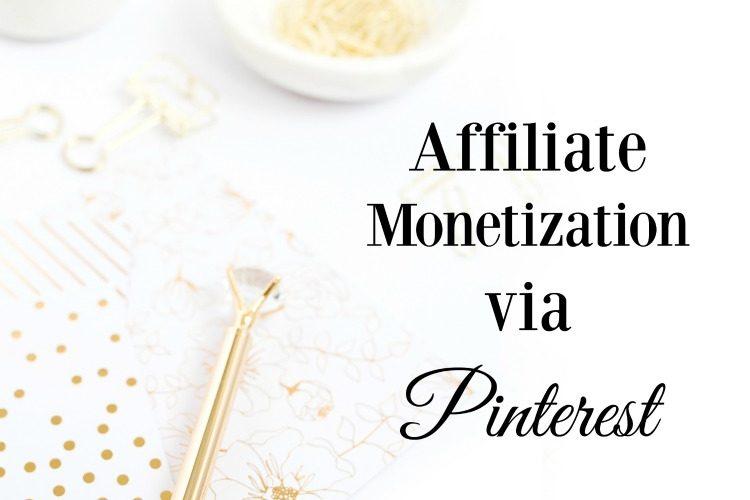 Podcast 10: Affiliate Monetization via Pinterest