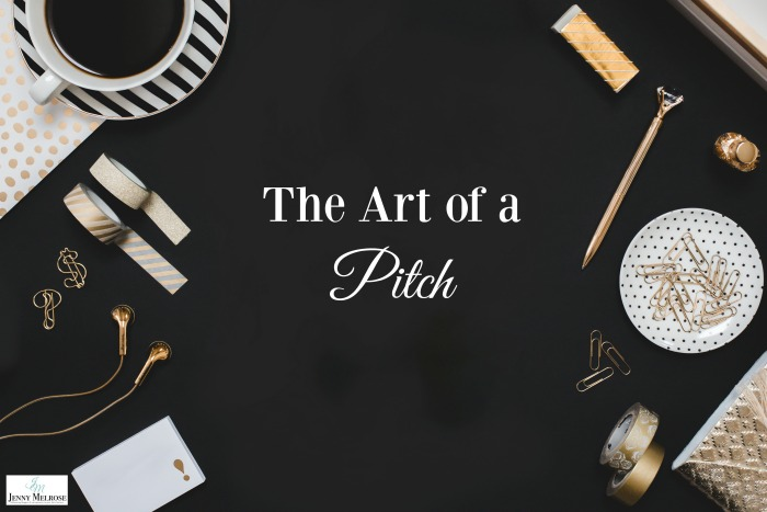 The Art of a Pitch