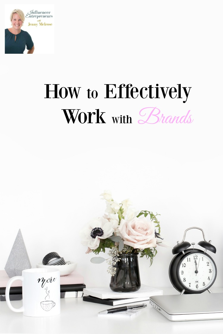 How to Effectively Work with Brands with a busy desktop