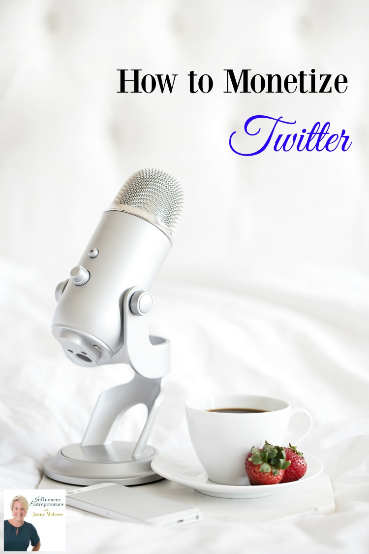 How to Monetize Twitter