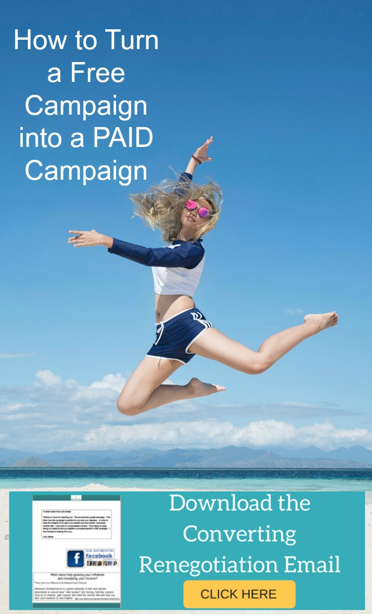 How to Turn a Free Campaign into a PAID Campaign