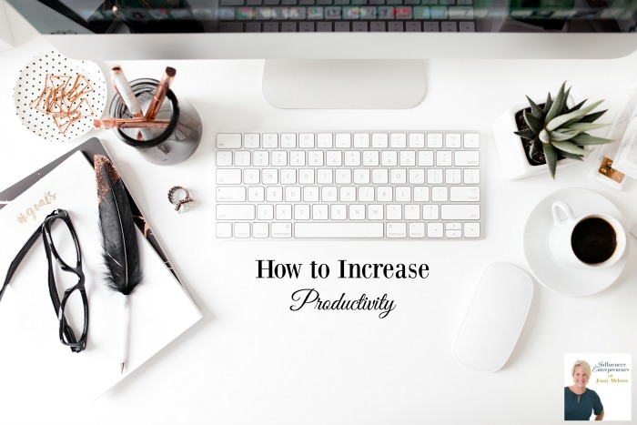 How to Increase Productivity as an online entrepreneur