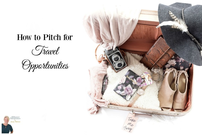 How to Pitch for Travel Opportunities