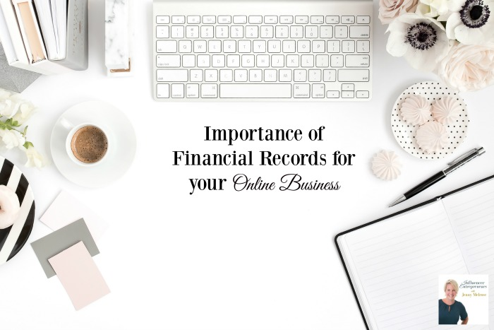 Importance of Financial Records for your Online Business with Iyanna Vaughn
