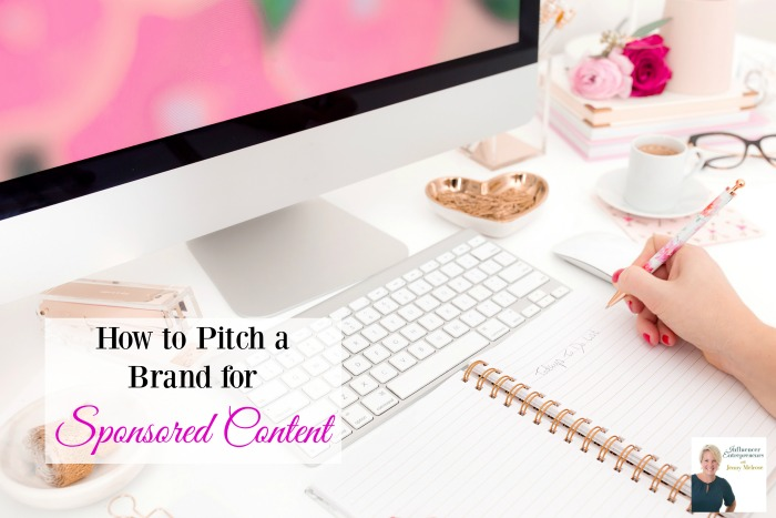 Podcast 26: How to Pitch a Brand for Sponsored Content