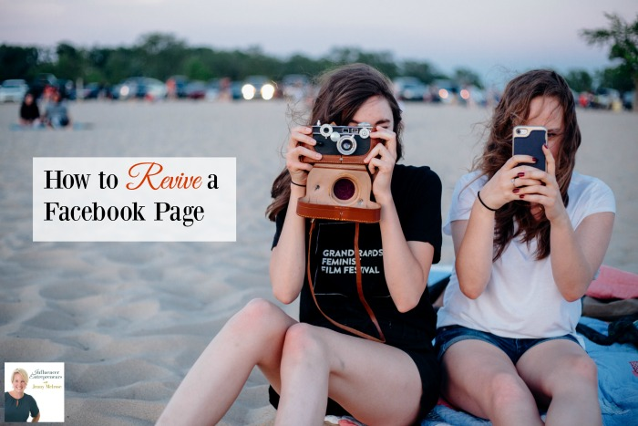 How to Revive a Facebook Page