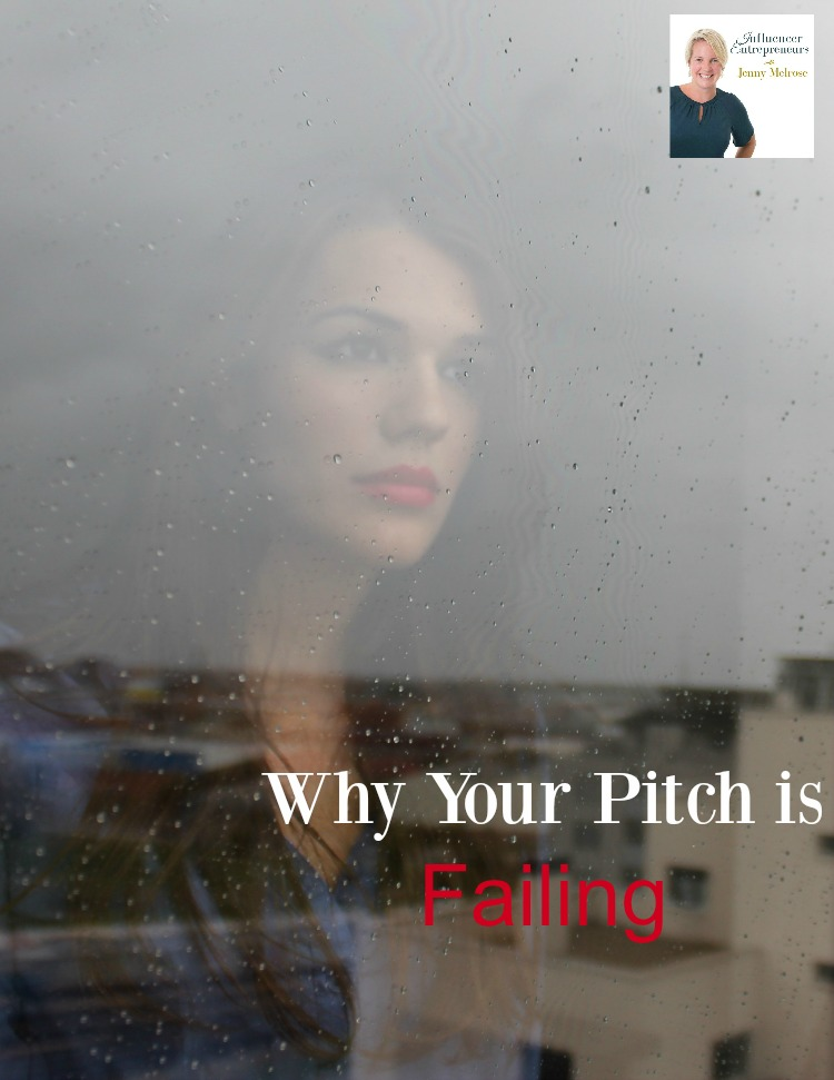 Why Your Pitch is Failing with Jenny Melrose