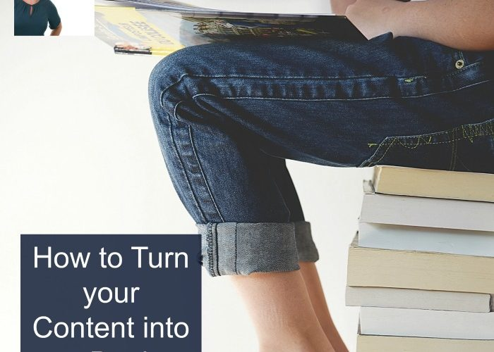 Podcast 32: How to Turn your Content into a Book
