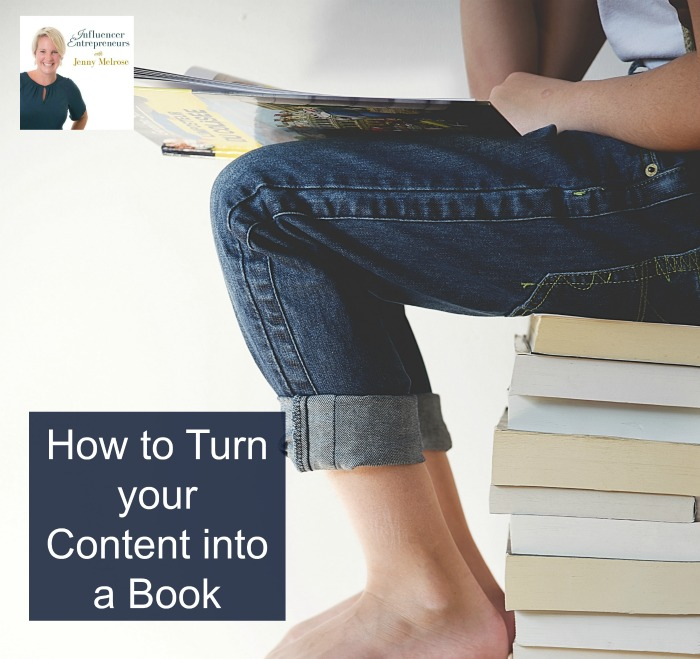 How to Turn your Content into a Book
