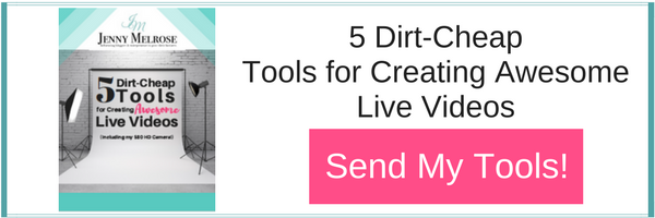 Grab your dirt cheap tools to live broadcasting to beat the facebook algorithm