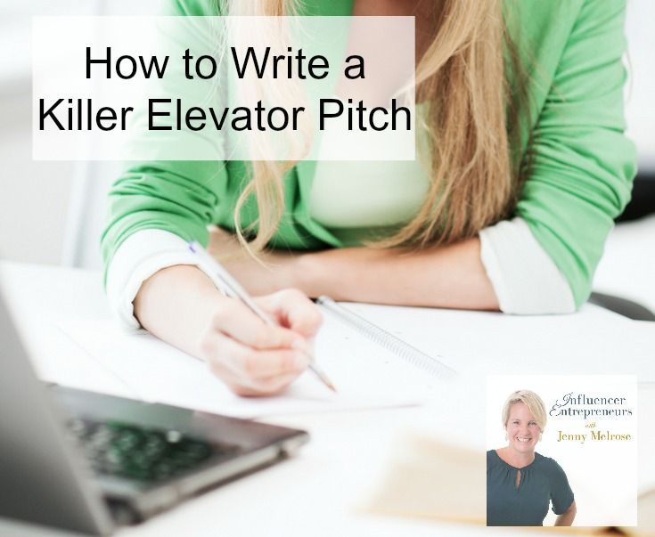 IE 36: How to Write a Killer Elevator Pitch