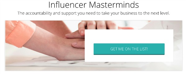 sign up for mastermind waitlist