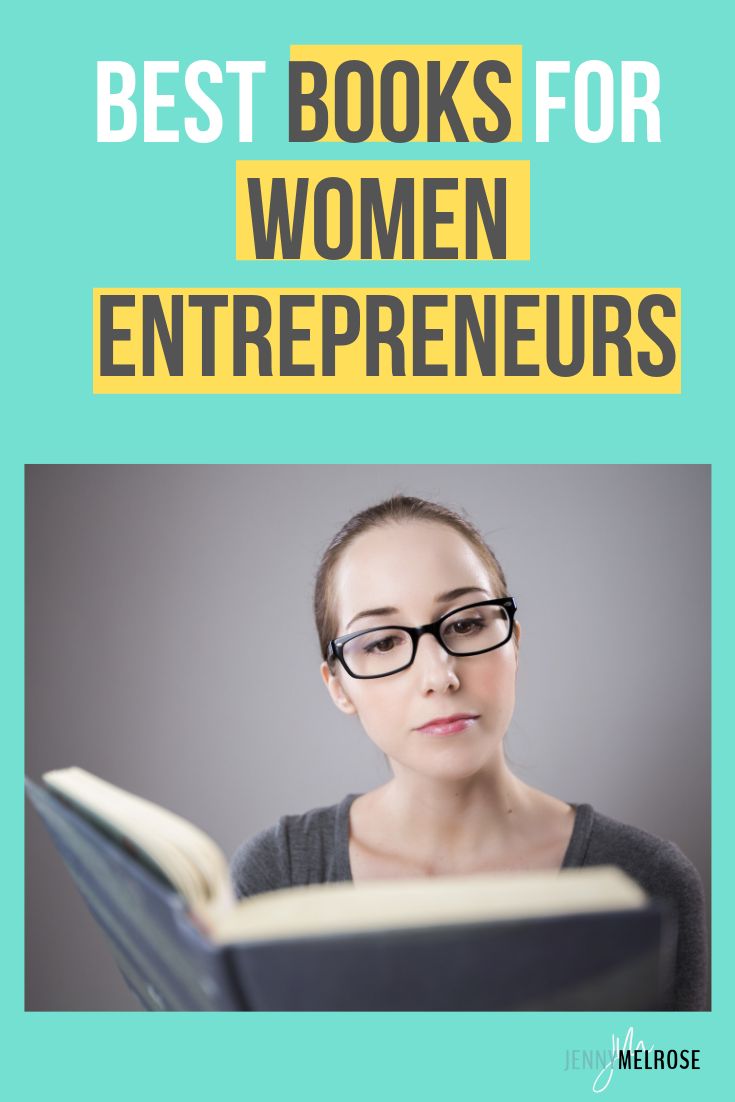 If you're looking for the best books for women entrepreneurs and business owners then you'll want this book list. #bloggingtips #womenentrepreneurs
