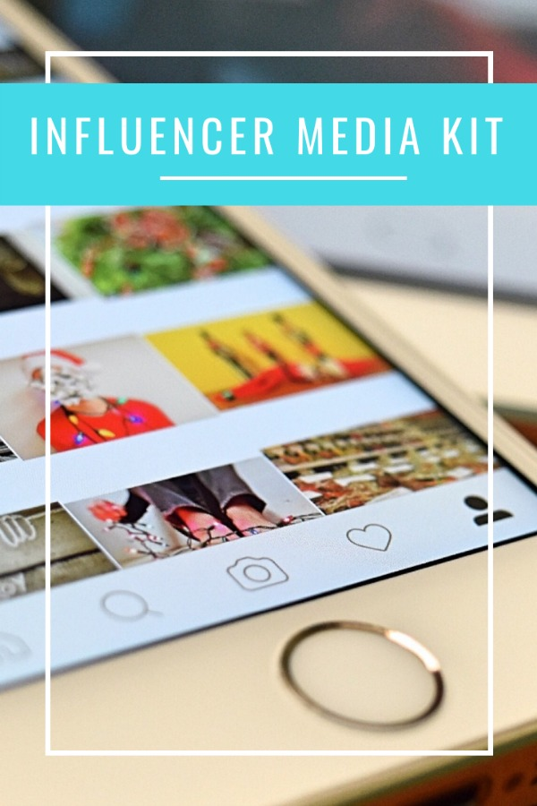 Influencer Media Kit with 8 editable pdfs and a video training