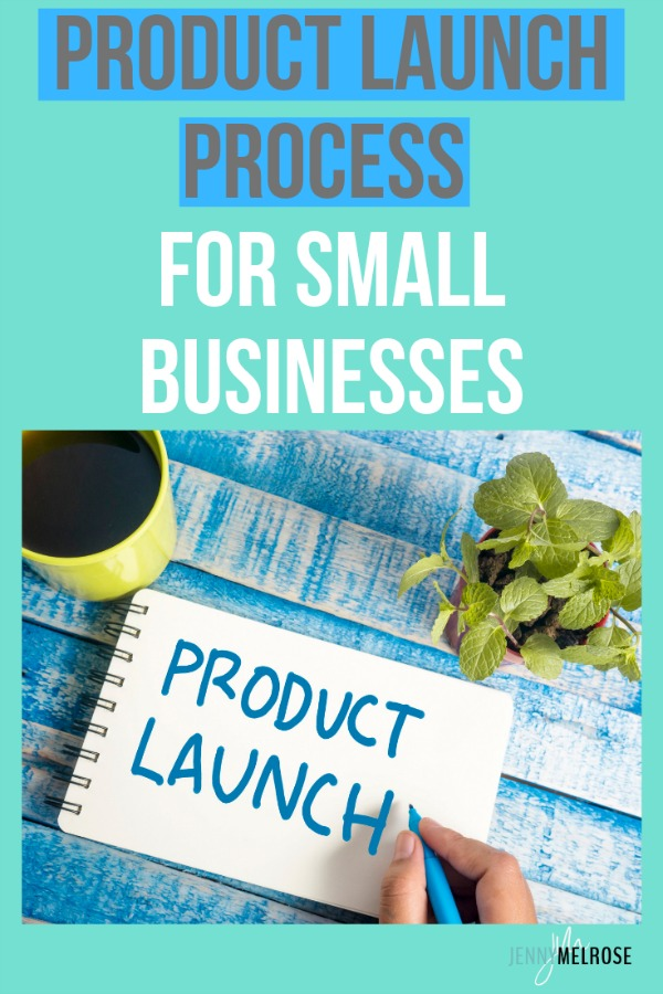 Putting a product or service out into the world is scary, but having a product launch process can alleviate some of the stress. #blogger #smallbusinessowner