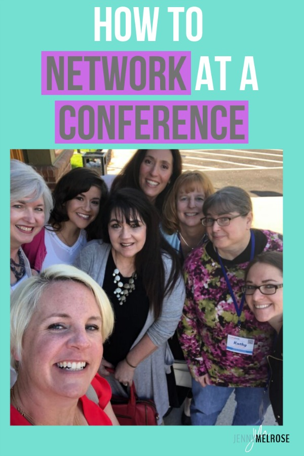 How to Network at a Conference even as an Introvert #bloggingtips #conference