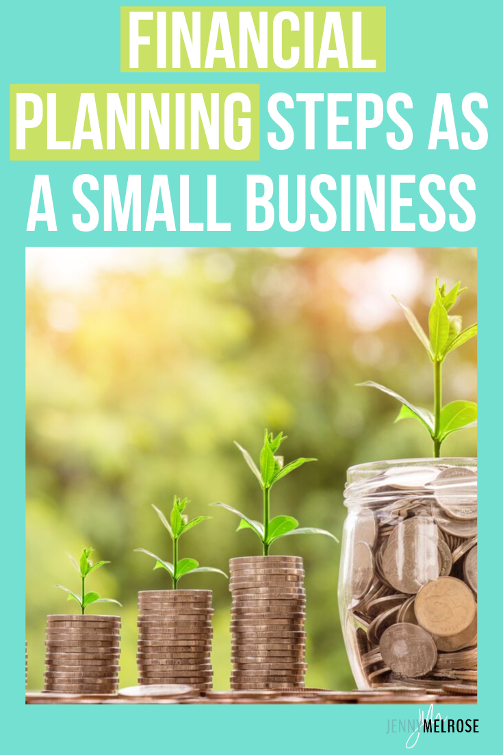Start taking care of your financial future with financial planning steps necessary for a small business owner #entrepreneur #bloggingtips