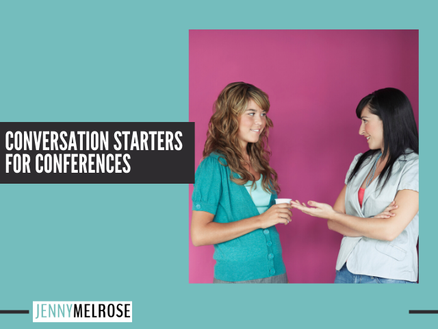 Great Conversation Starters for Conferences