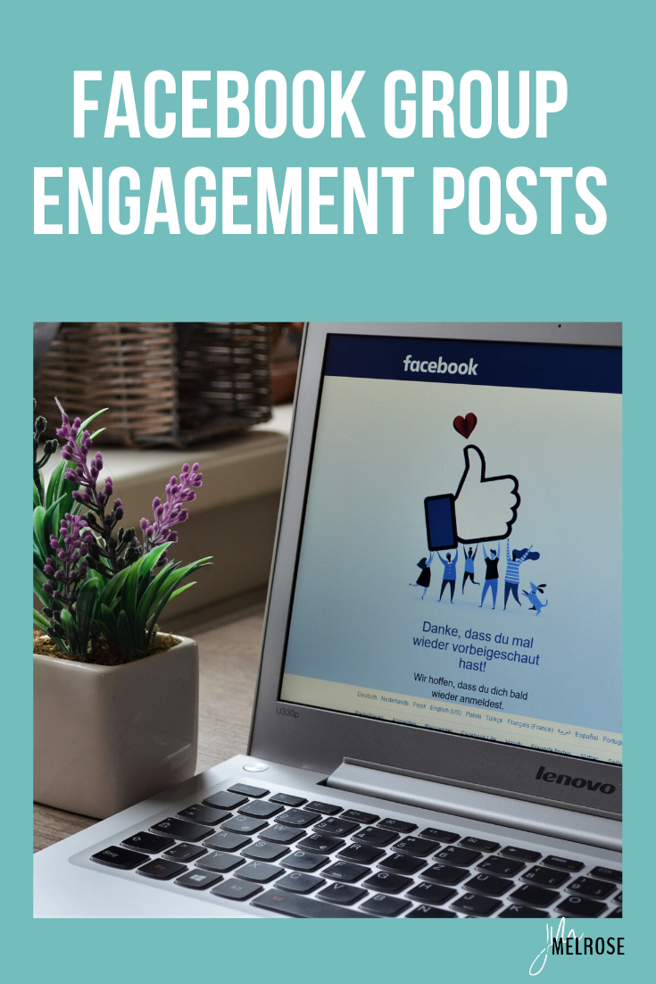 In order to create a community of diehard fans Facebook group engagement posts with a specific strategy designed by Dana Malstaff of Boss Moms can make it happen.