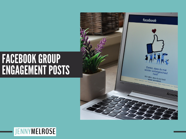 Facebook Group Engagement Posts