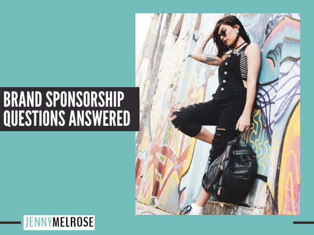 Brand Sponsorship Questions Answered