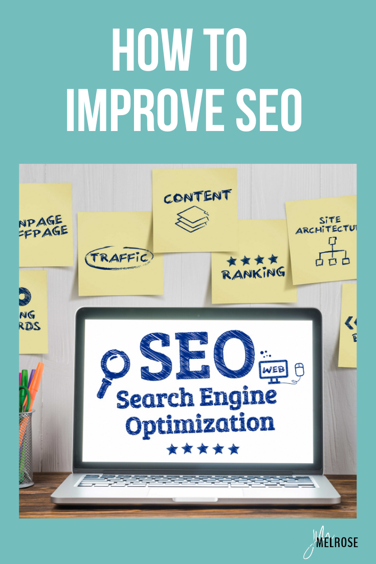 Understanding how to improve SEO is one of the key factors that will affect the overall success of your website over time. #bloggingtips #beginningbloggers