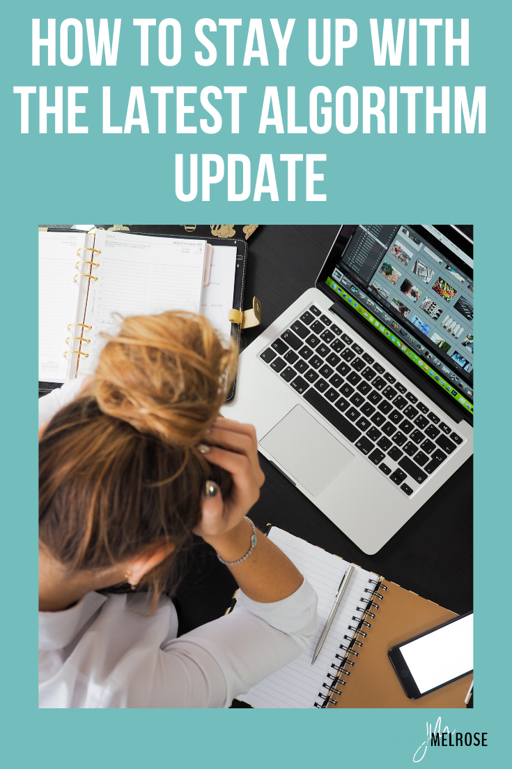"""Do the words """"algorithm update"""" make you sweat? Are you tired of trying to figure out what the latest algorithm updates are and how to keep up with them?"""