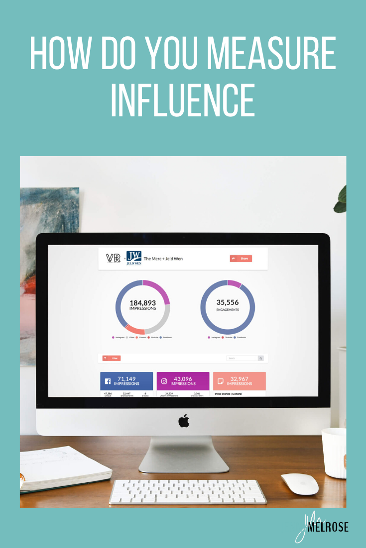 "As a coach for bloggers and influencers I am routinely asked, ""How do you measure influence?""  We're diving into how you measure your influence."