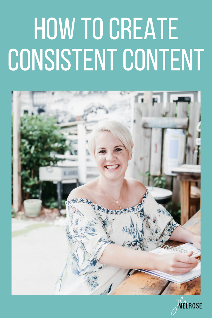 One of the things I hear most often from the online business owners I know is how hard it is to create consistent content.
