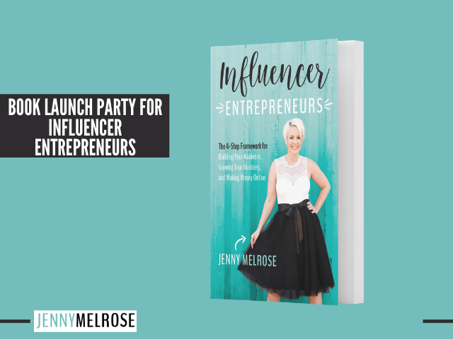 Book Launch Party for Influencer Entrepreneurs