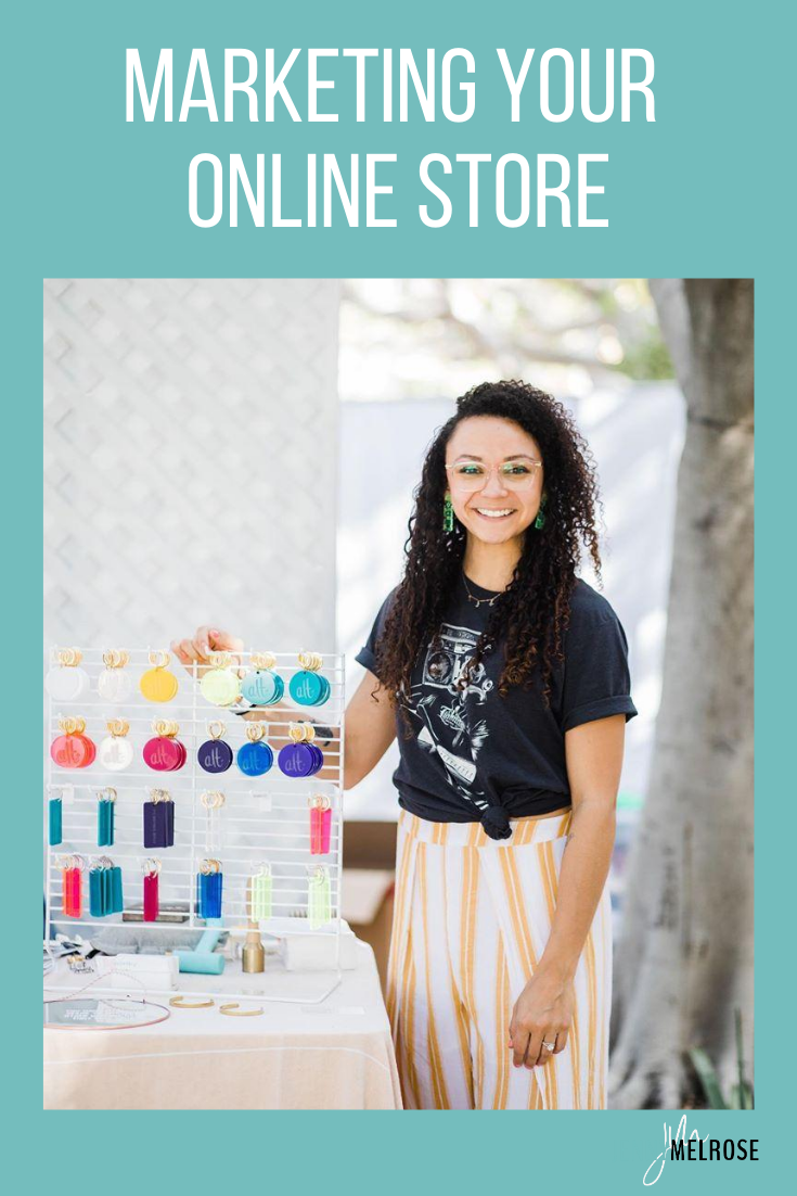 We often talk about influencers on the podcast but today I want to talk about marketing an online store for those of you that have physical products and consider yourself a creative.