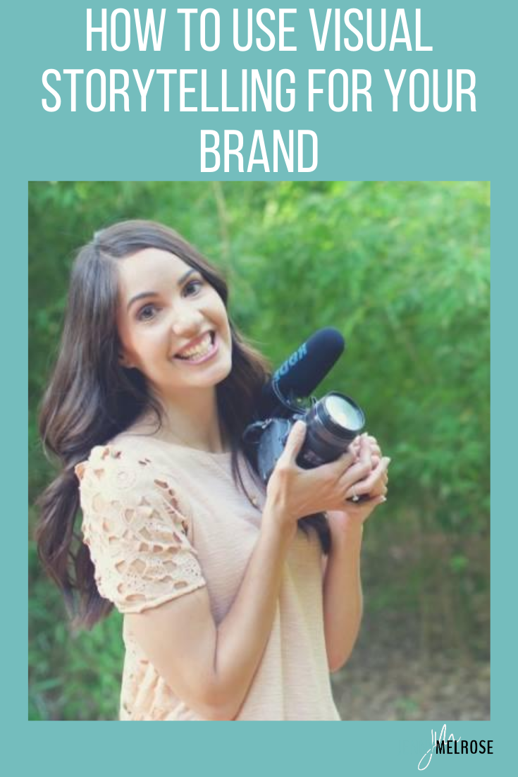 Video is exploding in the online business world and it's one of the best ways to show off your personality and reach your audience in a new and fun way. In this episode, we are going to dive into how to use visual storytelling for your brand.