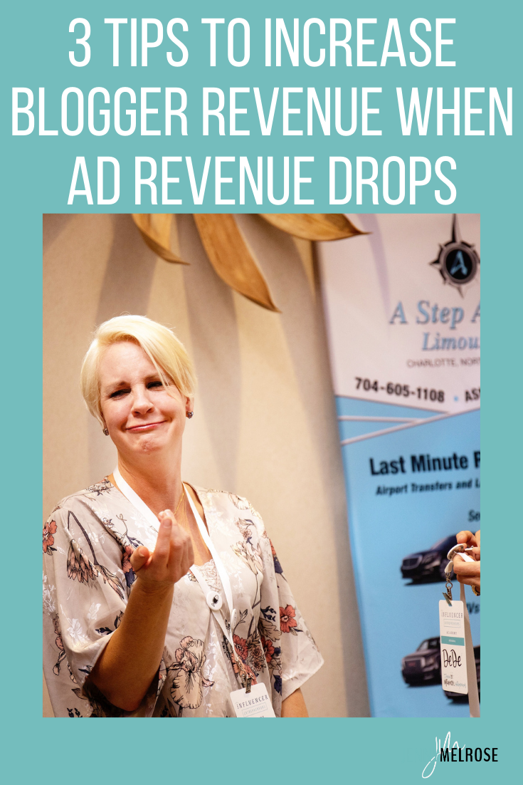 As ad revenue declines in 2021 there are ways to increase your blogger revenue and these 3 tips will show you how.
