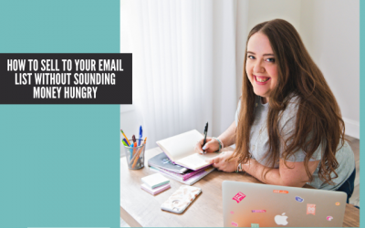 How to Sell to Your Email List