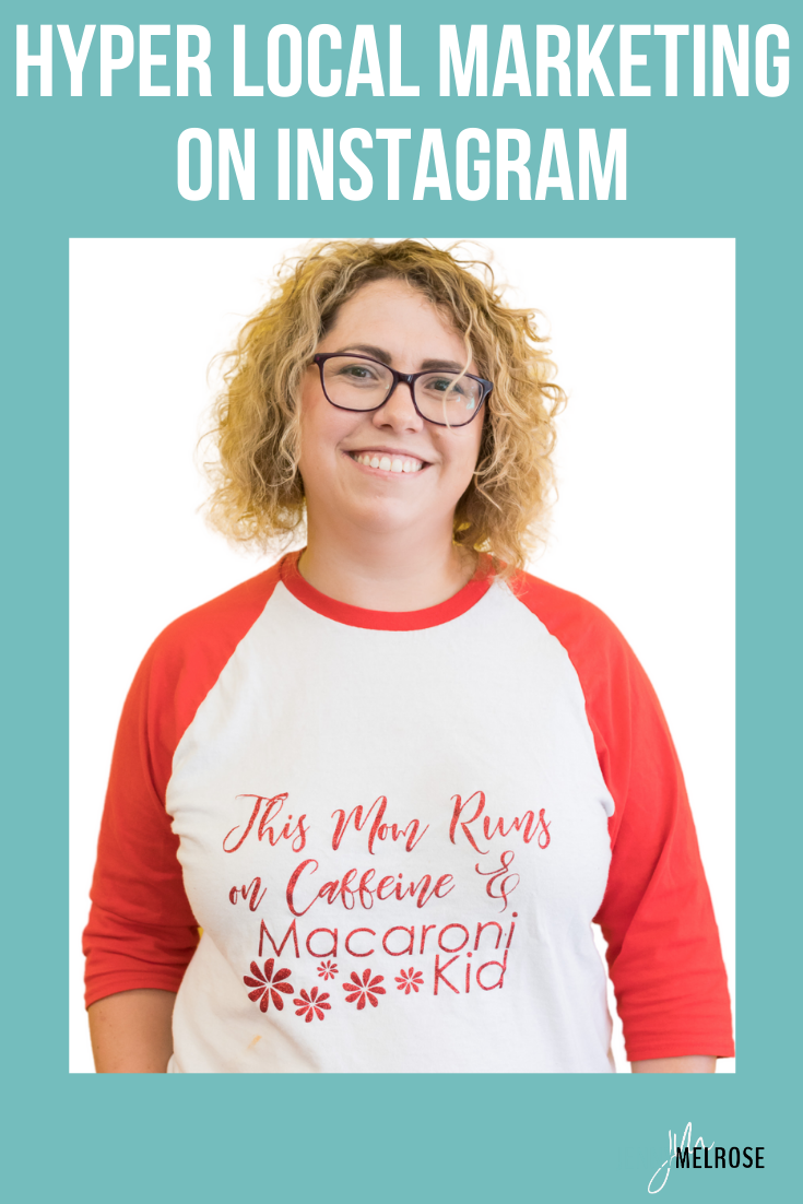 Are you wanting to really narrow down your marketing on Instagram to a local audience? In today's episode, we are talking about hyper local marketing on Instagram with Carmen Kaethler of Macaroni Kid.