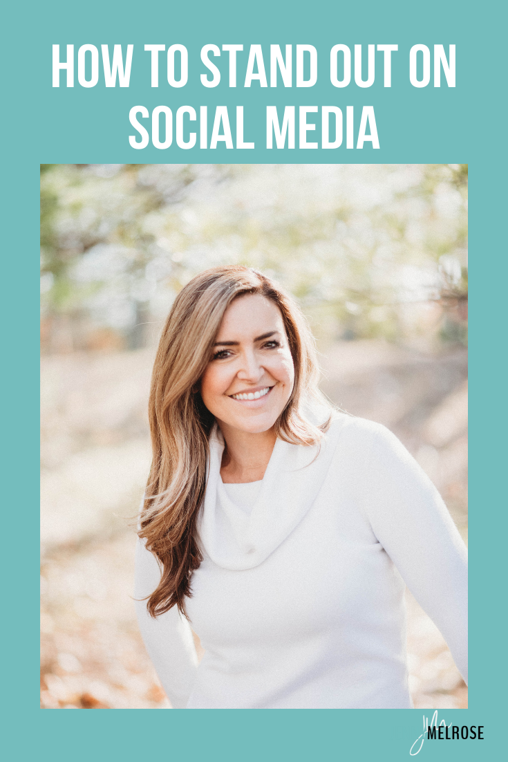 Do you need help knowing how to stand out on social media? In such a saturated market it can feel almost impossible to stand out or be unique. You might feel like it's a waste of time, a losing battle.