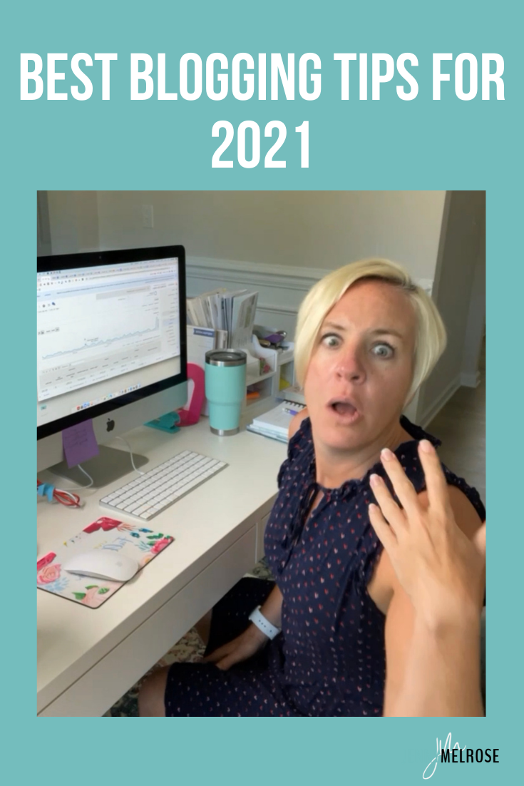 In this episode, we are jumping right into blogging tips for 2021. I want to provide you with the most relevant information available regarding the best advice for blogging right now.