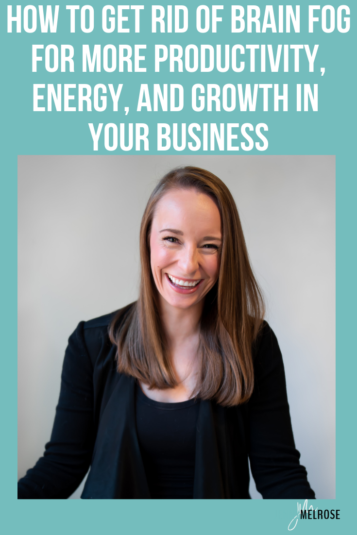 Has the stress of the past year caused your brain fog to grow increasingly worse? Is brain fog affecting the way you're able to operate in your business? If so, pay attention! Because today, I am speaking with Tanessa Shears about how to get rid of brain fog so that you can be more successful in your business and in your life.